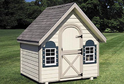 8' x 6' Colonial Playhouse