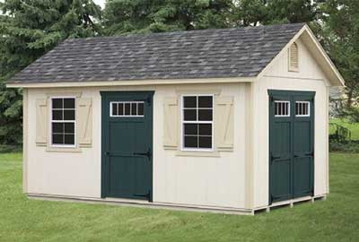 10x12 A Frame Deluxe Shed in East Berlin, NJ