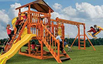 Wood Playsets for Kids