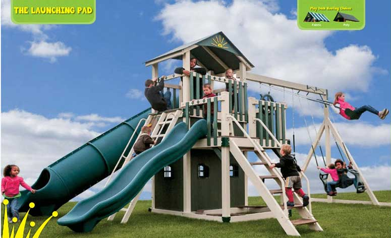 The Launching Pad Vinyl Playset for kids