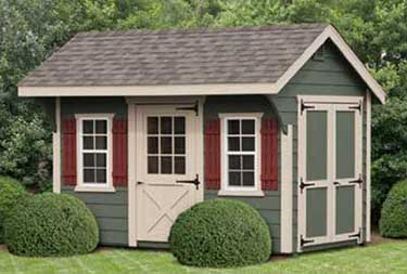 8' x 12' Carriage Deluxe Shed camden county nj