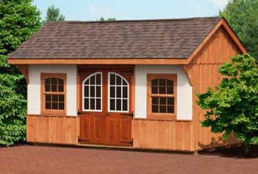 10' x 16' Carriage Deluxe Shed burlington county nj