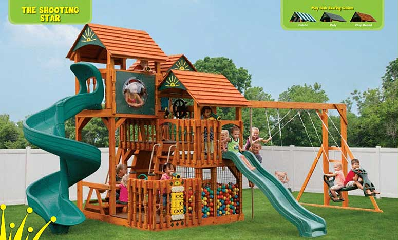 The Shooting Star Playset for children